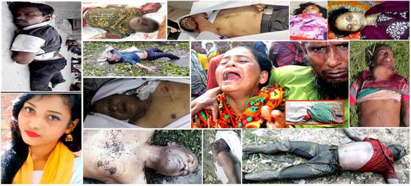 না'গঞ্জে সাড়ে তিনমাসে শতাধিক লাশ হত্যাকান্ডের ঘটনা ঘটেছে ৩৫টি