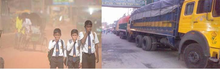 চলাচলে অনুপযোগী ঢাকা-না'গঞ্জ পুরাতন সড়ক